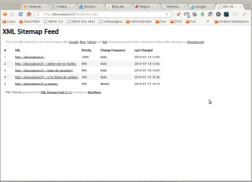XML Sitemap & Google News feedsの使い方